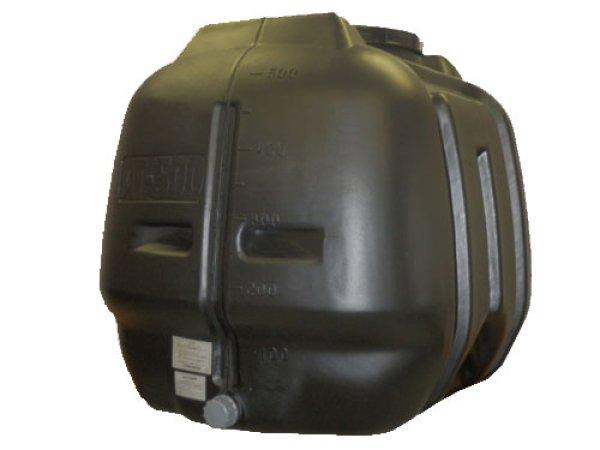 画像1: コダマ樹脂工業 ローリータンク タマローリー横型タイプ AT-500B (ブラック) (1)