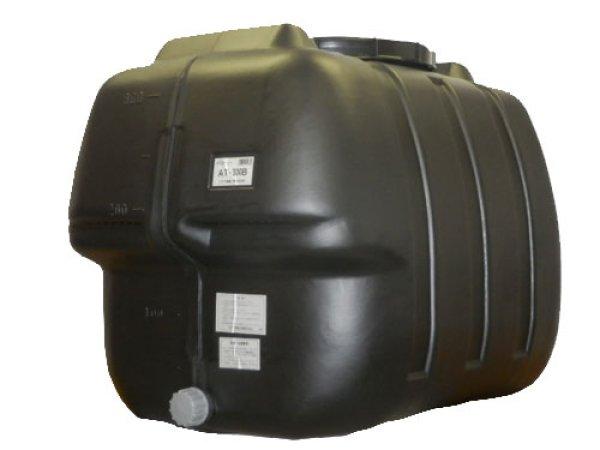 画像1: コダマ樹脂工業 ローリータンク タマローリー横型タイプ AT-300B (ブラック) (1)