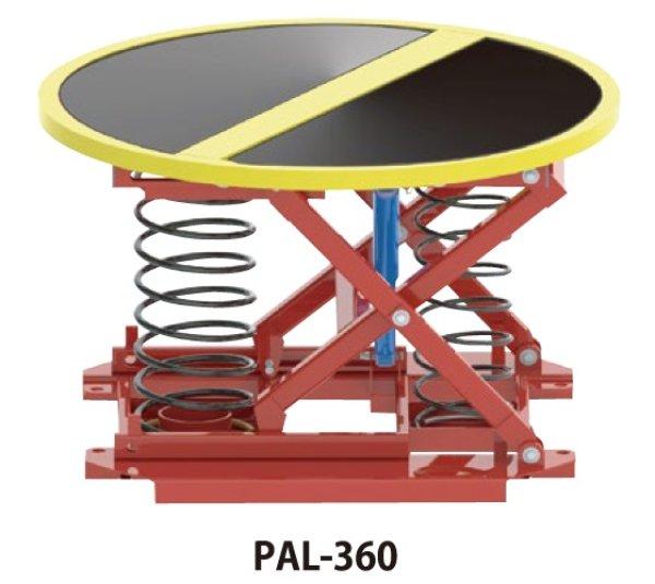 画像1: 花岡車輌 腰痛対策機器 パレットレベラー PAL-360 400kg (1)